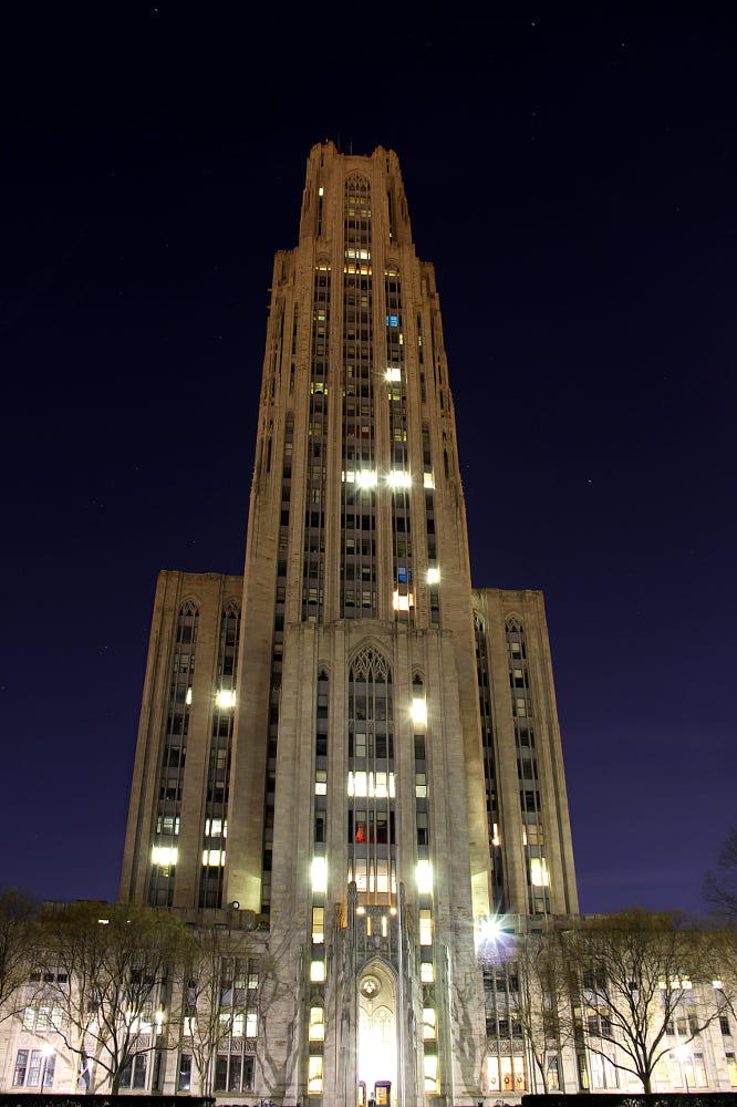 Cathedral Of Learning By Chris Juengel / 500px