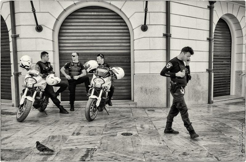 On Patrol ... Athens view no. 55
