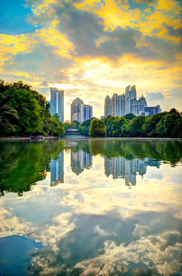 Photograph Park in Town by Pastel Puriwat on 500px