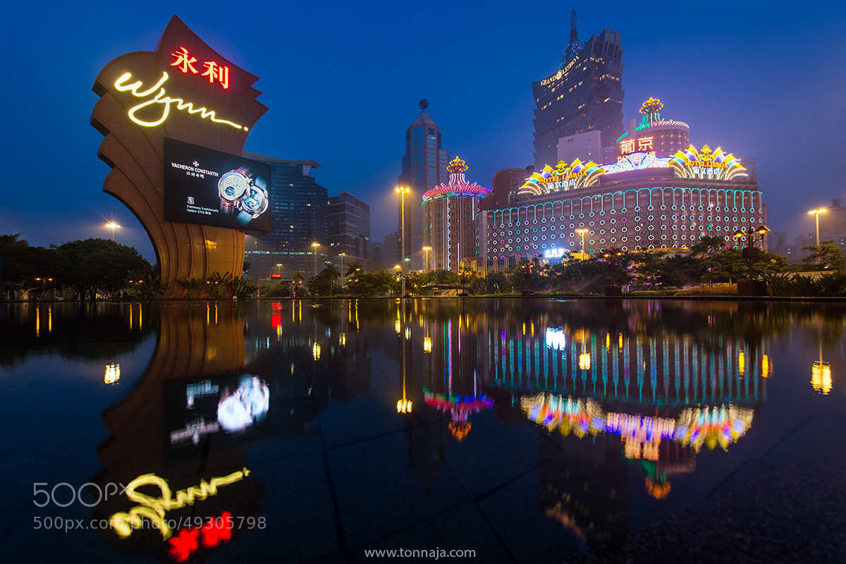 Photograph Casino City by Tonnaja Anan Charoenkal on 500px