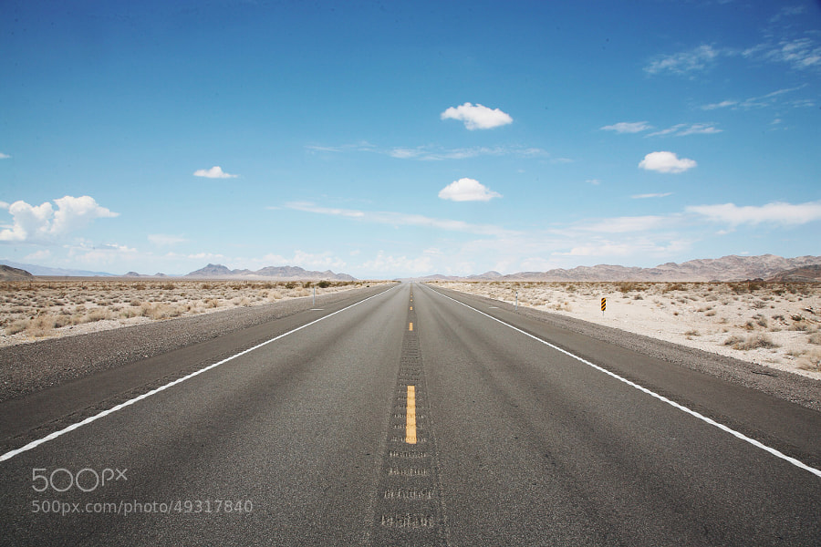 Photograph Hitting the Road by Mohammed AlDhafeeri on 500px