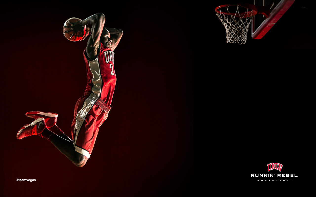 Photograph Runnin Rebels Basketball Campaign by Anthony Mair on 500px
