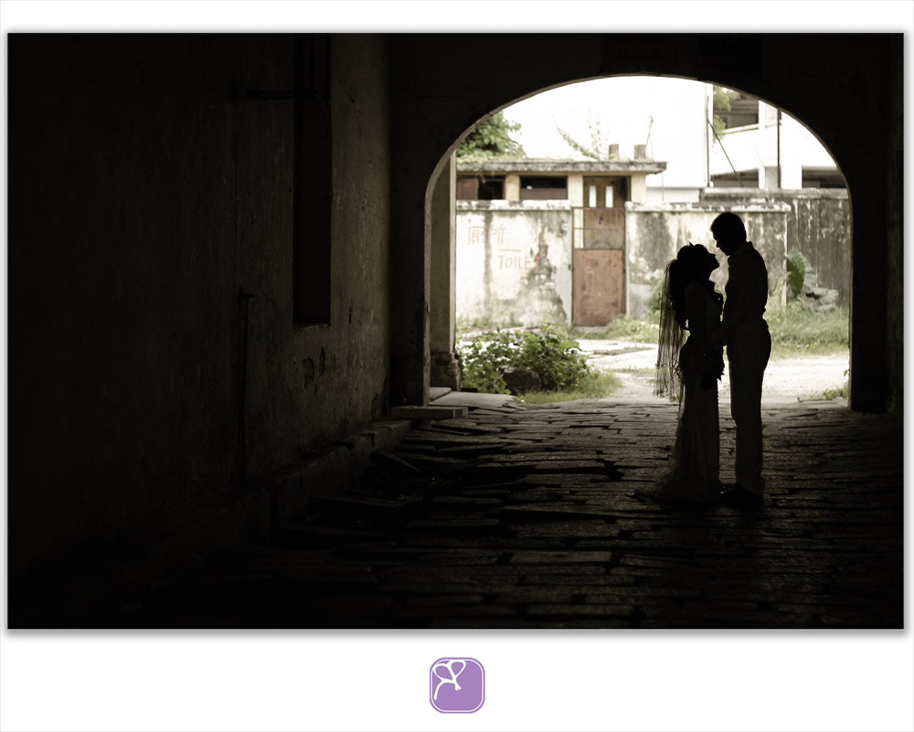 Photograph silhouette wedding outdoor.  by Erwan  Abdullah on 500px