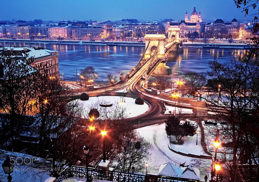 Photograph Budapest at winter by Botond Horváth on 500px