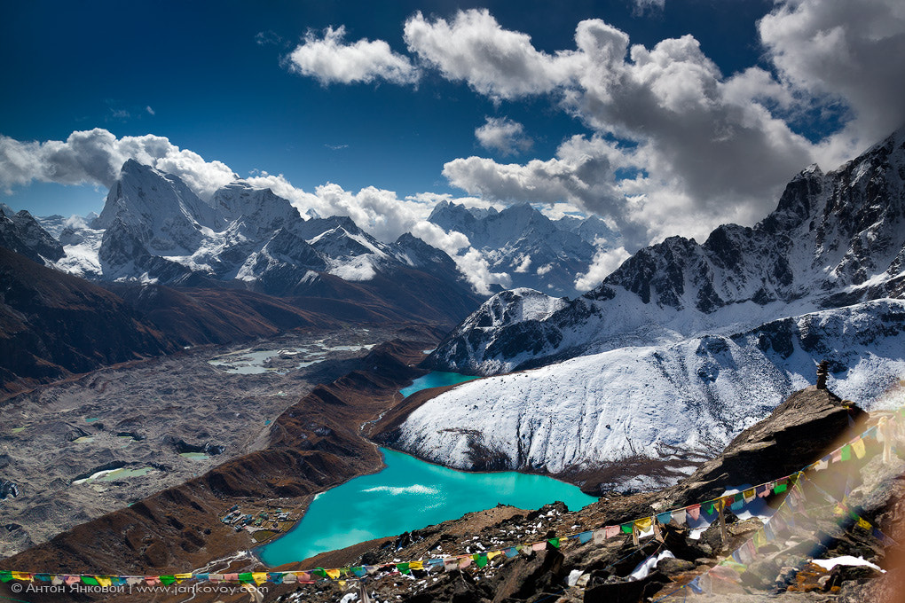 Photograph View from the Gokyo Peak (5,357 m) by Anton Jankovoy on 500px