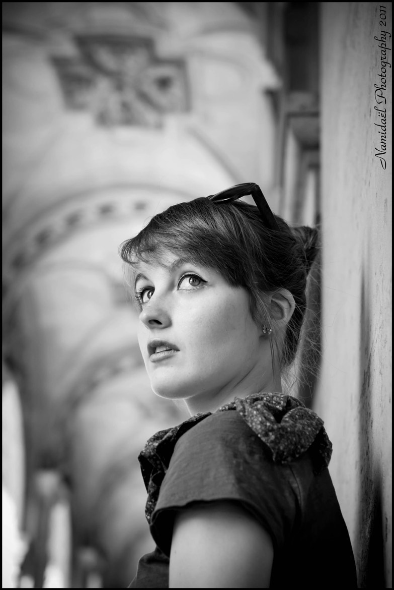Photograph Camille by Cécile MARTIN on 500px