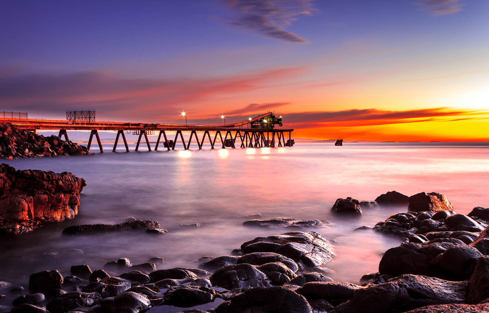 Photograph Pier by James Lee on 500px