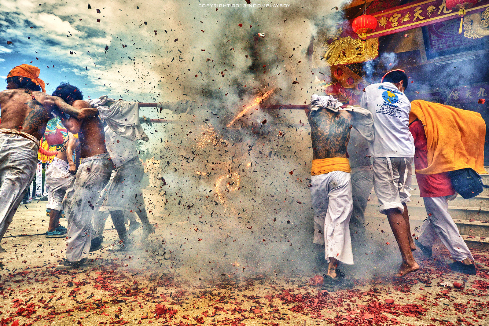 Photograph Phuket Vegetarian Festival in Thailand by noomplayboy  on 500px