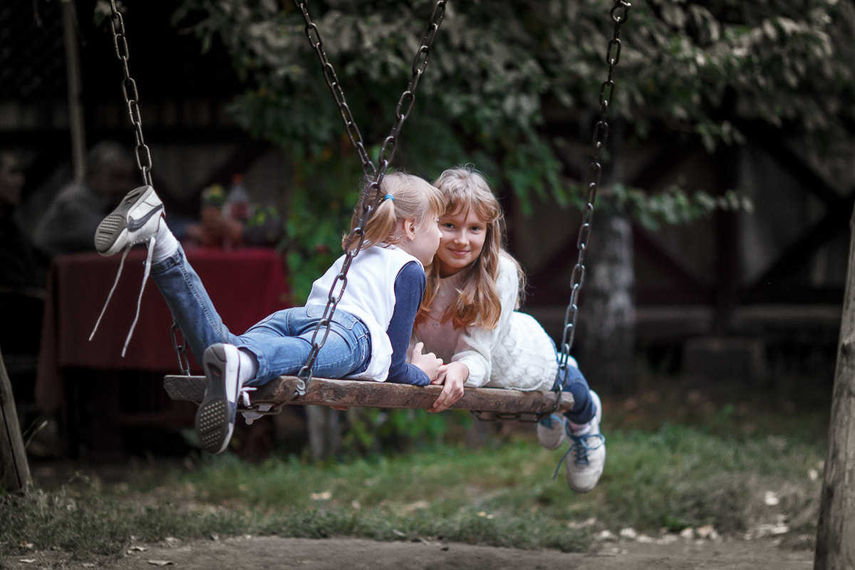 Photograph on swing by Alexander Koldin on 500px