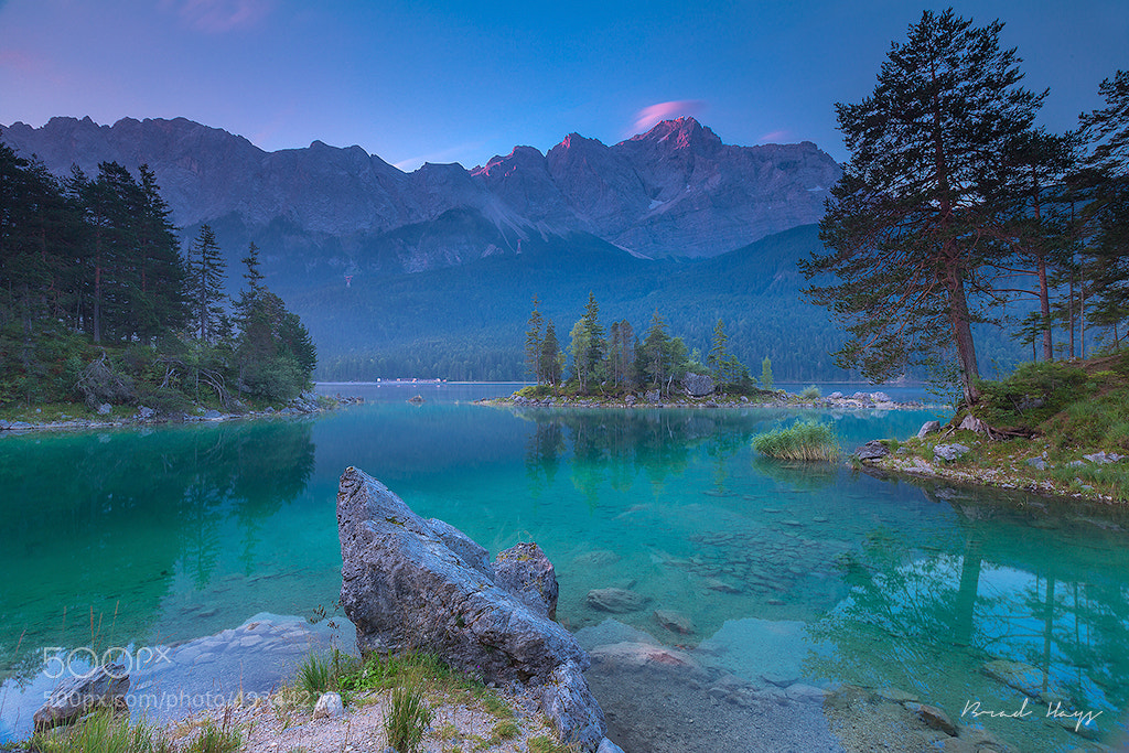 Photograph Eibsee Morgen by Brad Hays on 500px