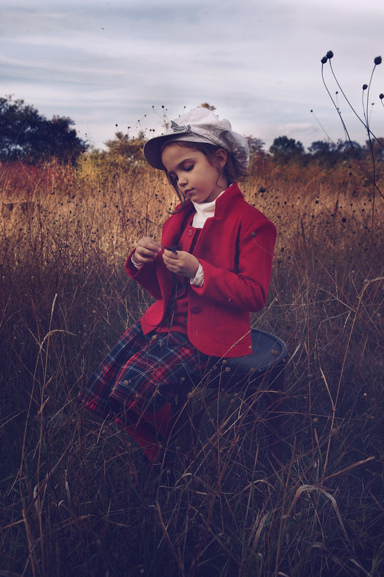 Photograph Kid with red coat by Kiril Stanoev on 500px