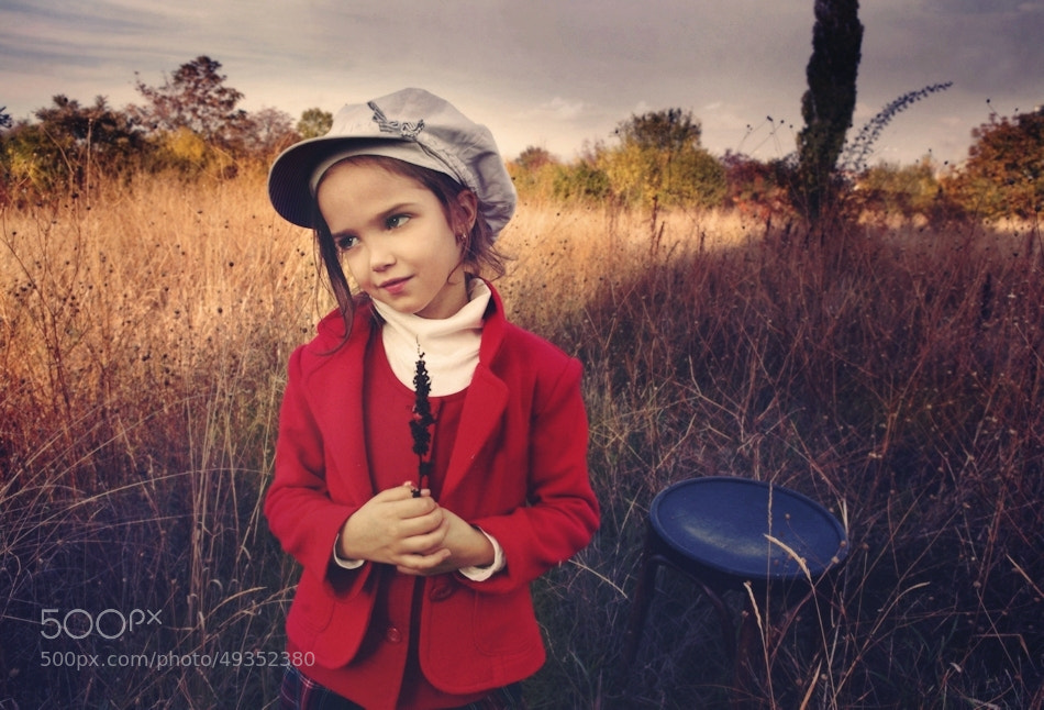 Photograph Kid with red coat II by Kiril Stanoev on 500px