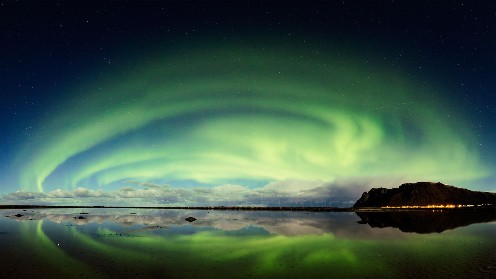 Photograph Auroras Panoramas by Frank Olsen on 500px