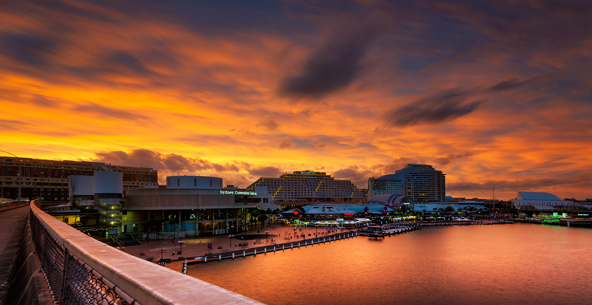 Photograph Darling Harbour on Fire by Goff Kitsawad on 500px