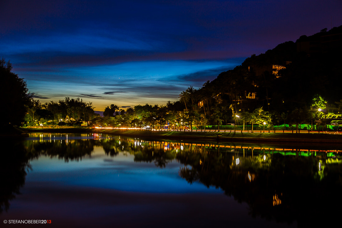 Photograph Sunset at Nay Harn Lake by Stefano Beber on 500px