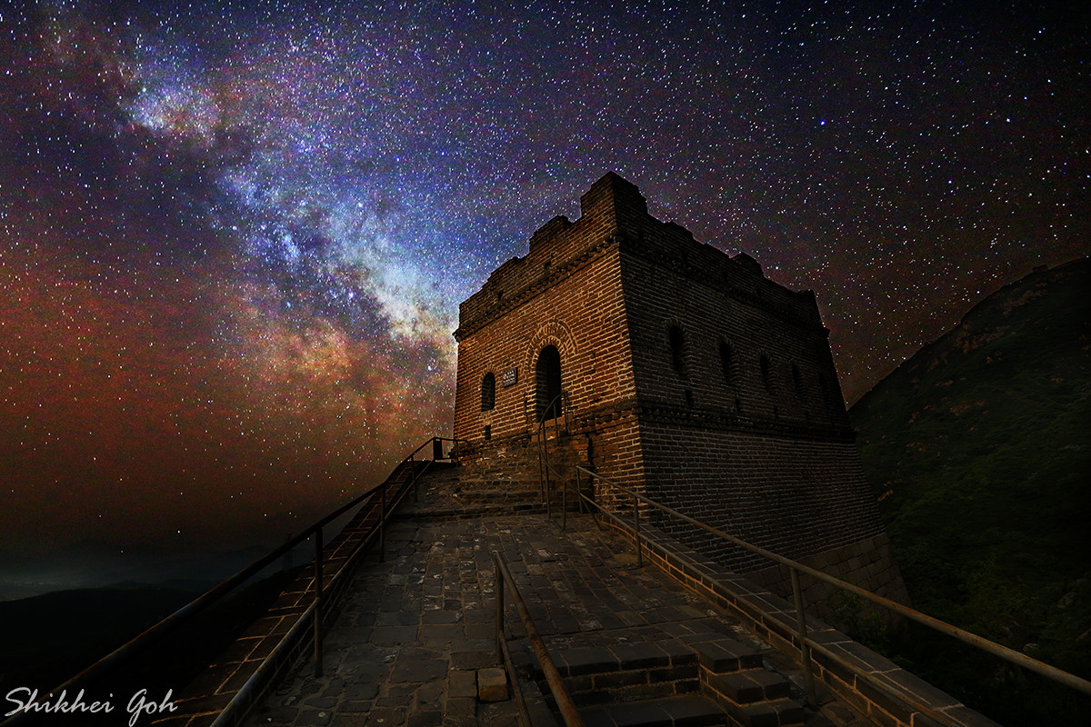 Photograph The Great Wall by shikhei goh on 500px