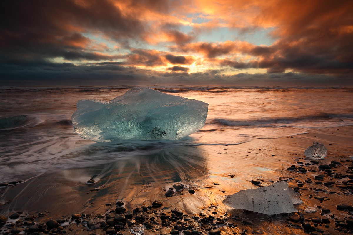 Photograph Land Of Ice And Fire by Elroyie David on 500px