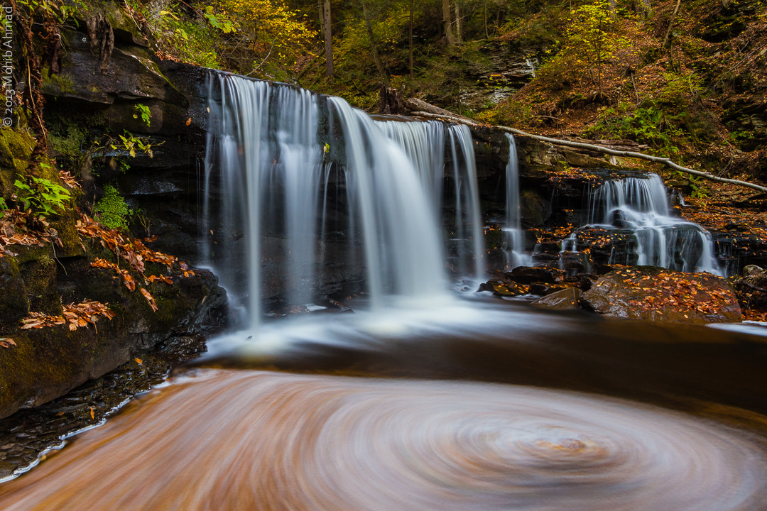Photograph Delaware Falls by Mohib Ahmad on 500px