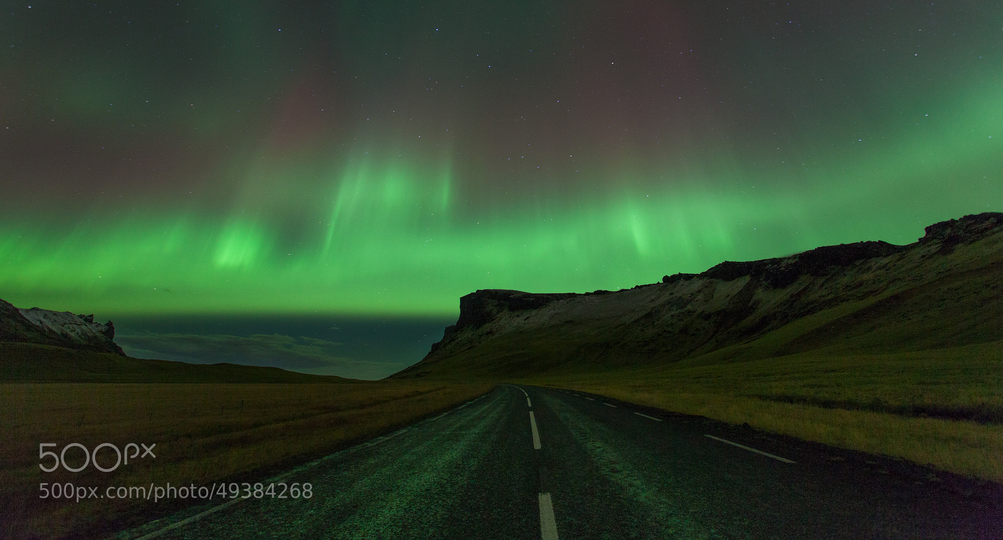 Photograph Aurora Borealis, Iceland by Guy Brown on 500px
