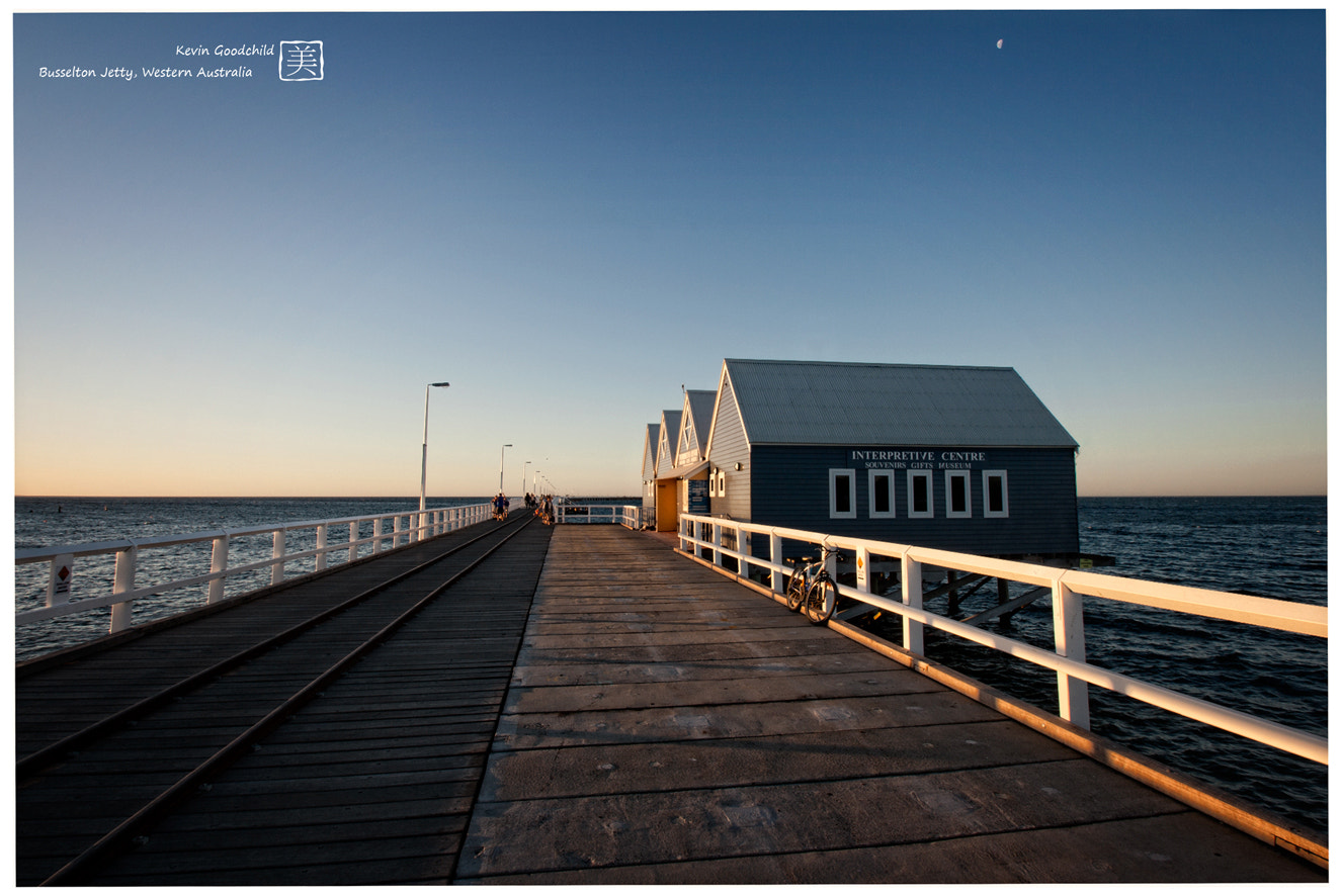 Photograph Busselton Jetty by Kevin Goodchild on 500px