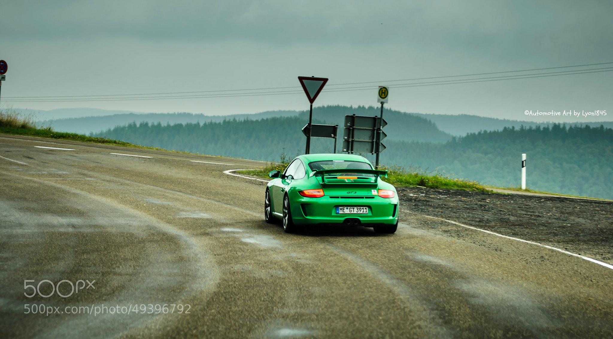 Photograph Porsche 997 GT3 by lyon1845 on 500px