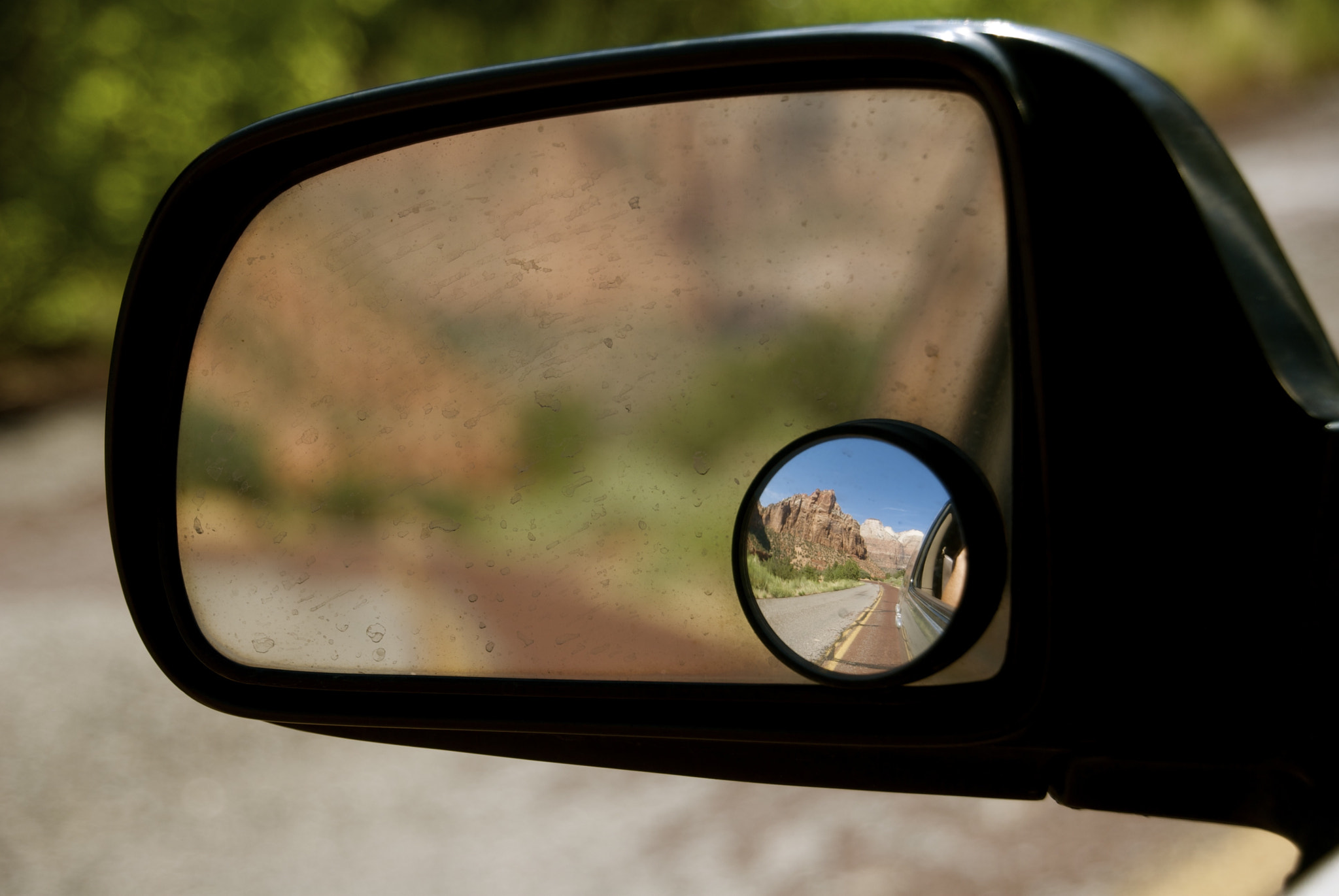 Photograph Rearview Mirror by ND Strupler on 500px