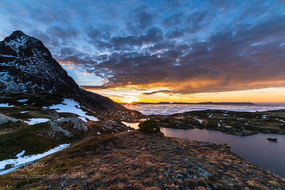 Photograph Sunset on Fourchu lake by Joris Kiredjian on 500px