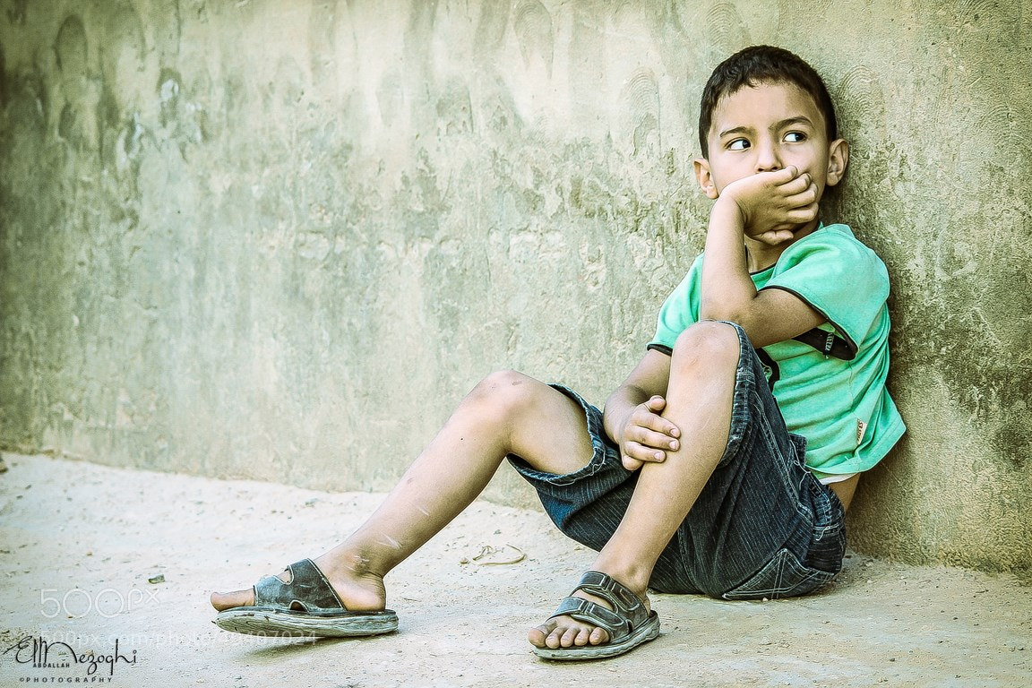 Photograph Unhappy child by AbdallaH ElmezOghi on 500px