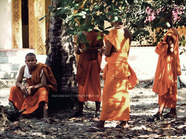 Photograph Monks by ibah zakaria on 500px