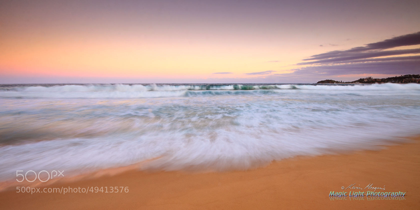Photograph Wamberal Beach Sunset by Kevin Morgan on 500px