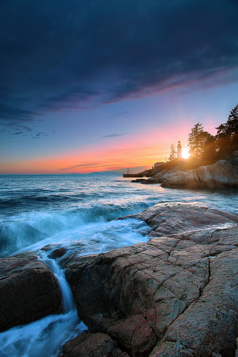 Photograph Lighthouse Park Sunset by Carl Pan on 500px