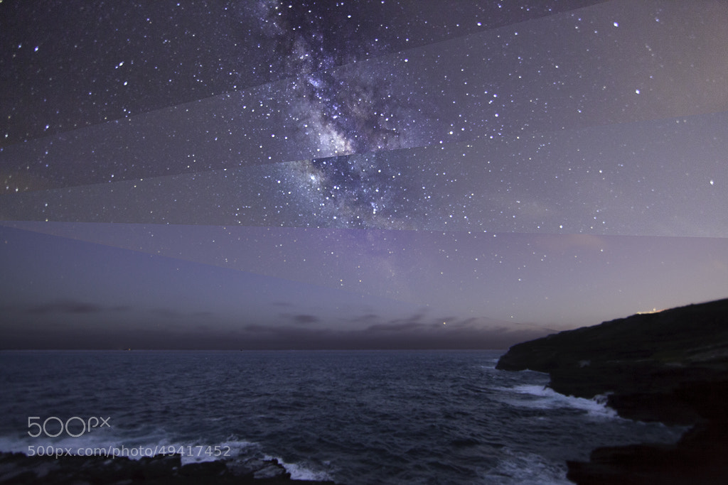 Photograph Milky Way Composite by Bob Matcuk on 500px