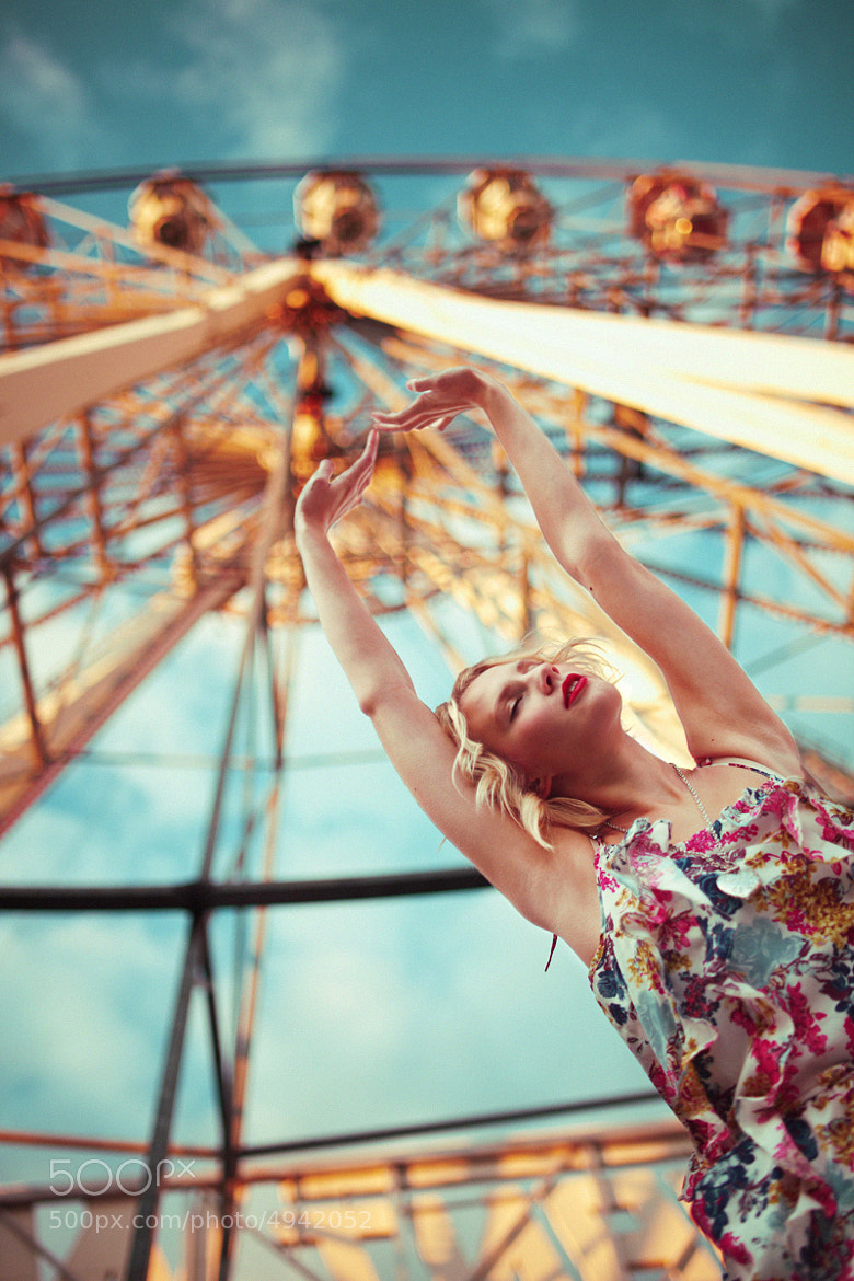 Photograph  Kiss me under the ferris wheel by Meri  Björn on 500px