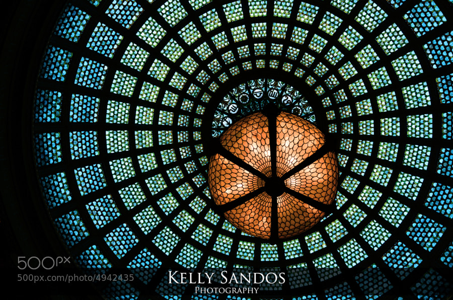Photograph Tiffany Glass by Kelly Sandos on 500px