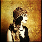 "Inspired by the ""Flapper"" culture of 20s."