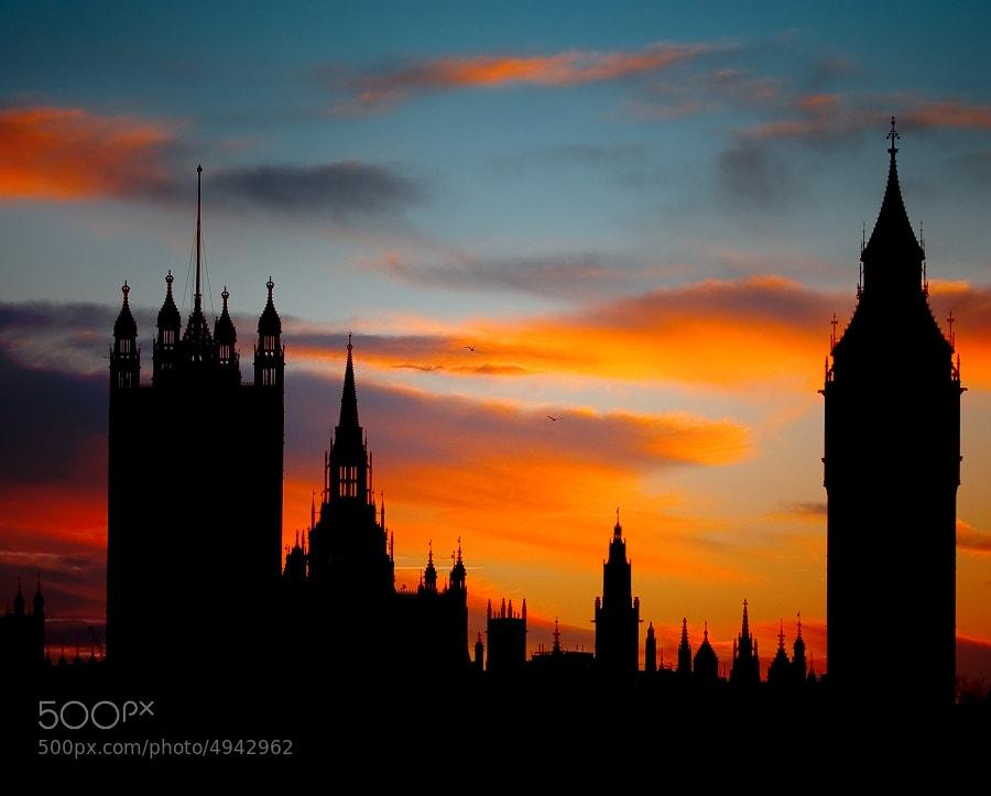 Photograph London silhouette by Tomas Rak on 500px