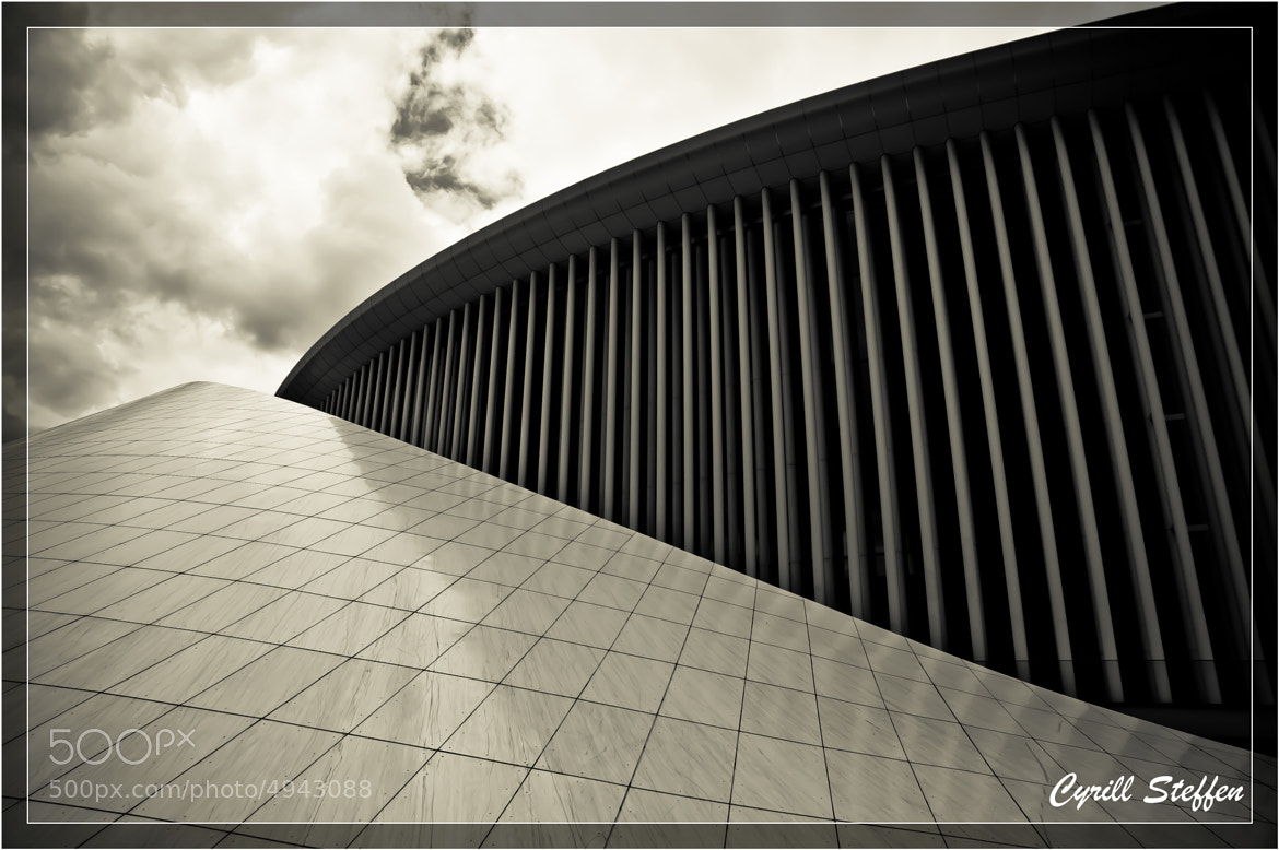 Photograph Philharmonie Luxembourg by Cyrill S on 500px