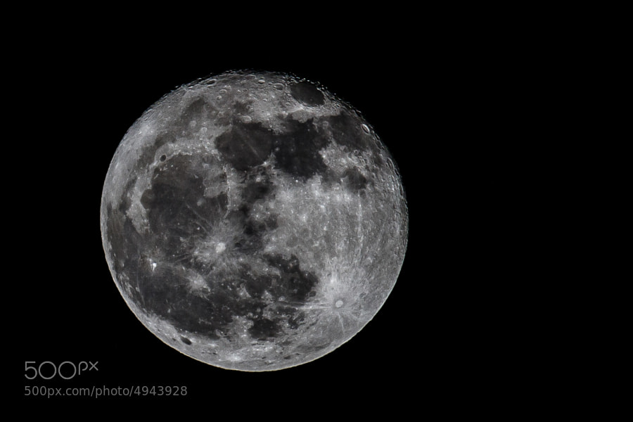 Photograph Day 39 - Feb 8: Mooning by Paul Howard on 500px