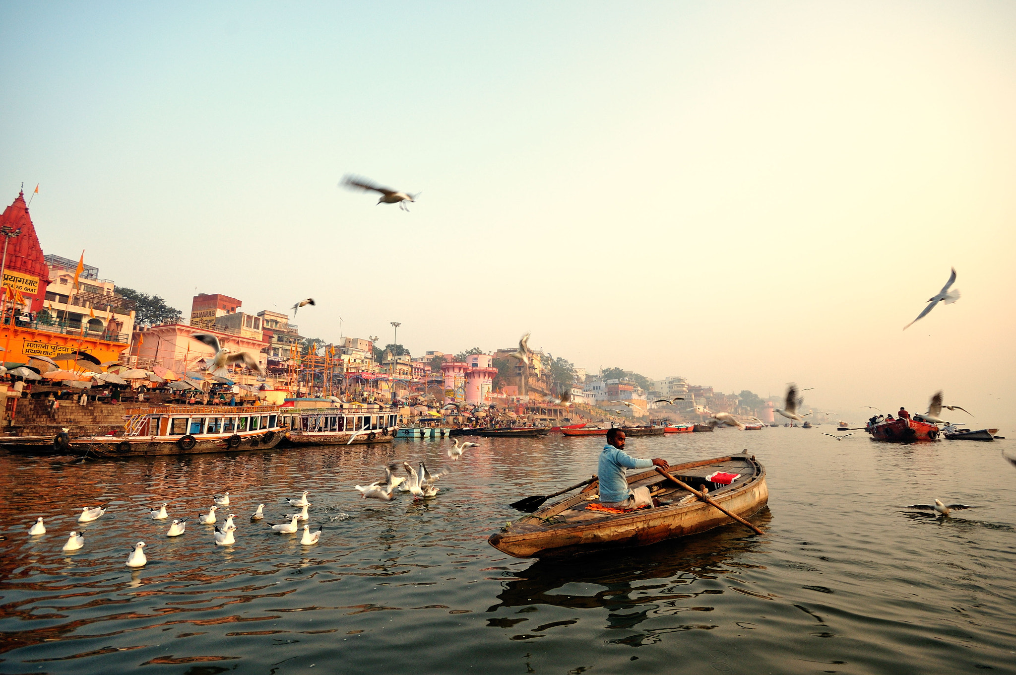 Photograph Boat on Ganges by Ulrich Lambert on 500px