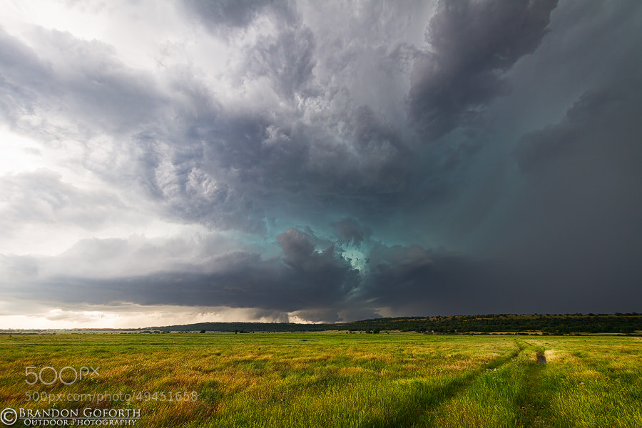 Photograph Supercell Storm 2 by Brandon Goforth on 500px