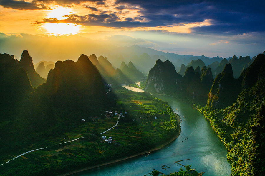 Sunrise by Tian Mai on 500px.com