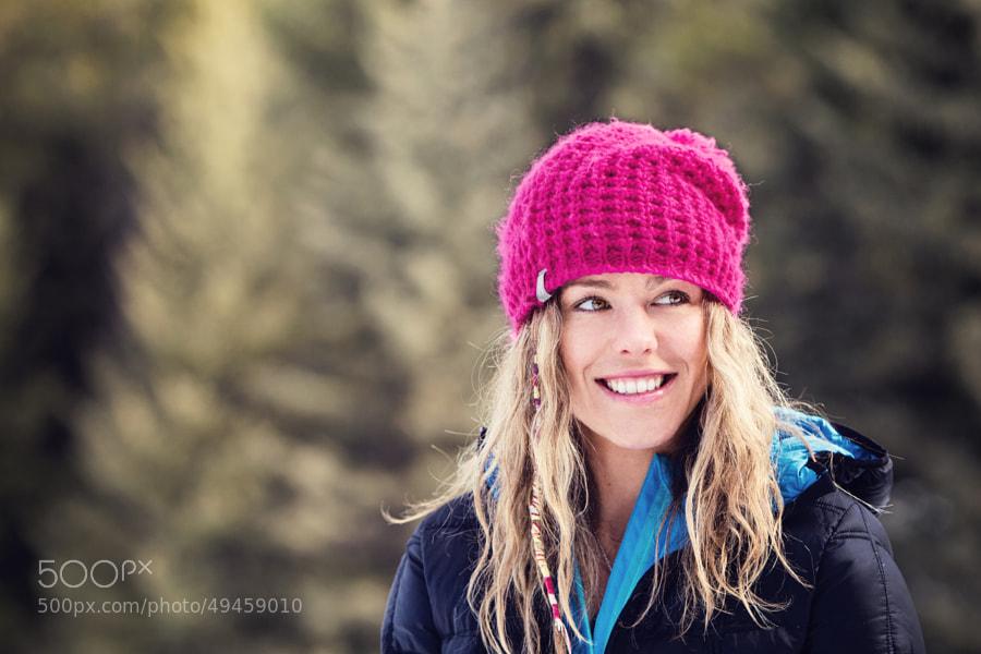 Professional Skier Lynsey Dyer