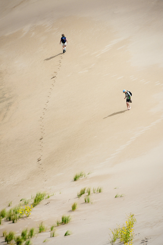 Photograph Hiking Great Sand Dunes by Uwe Logemann on 500px