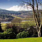 ������, ������: Esthwaite Water from Hill Top