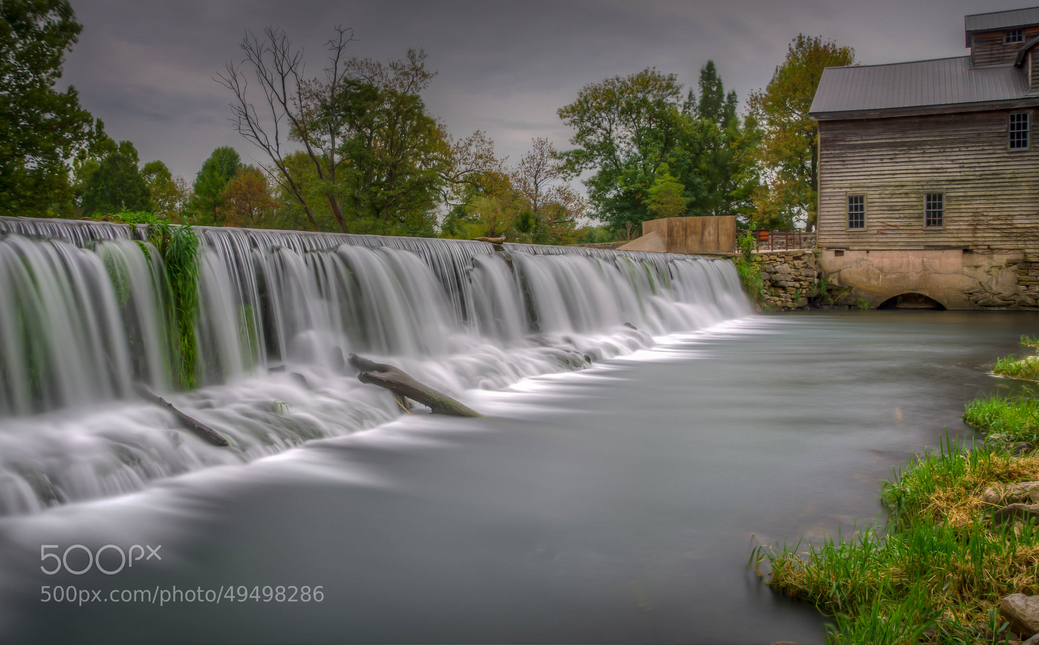Photograph October at Jolly Mill by Jerry Dean on 500px