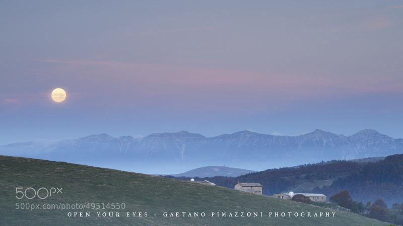 Photograph Autumn moon by Gaetano Pimazzoni on 500px