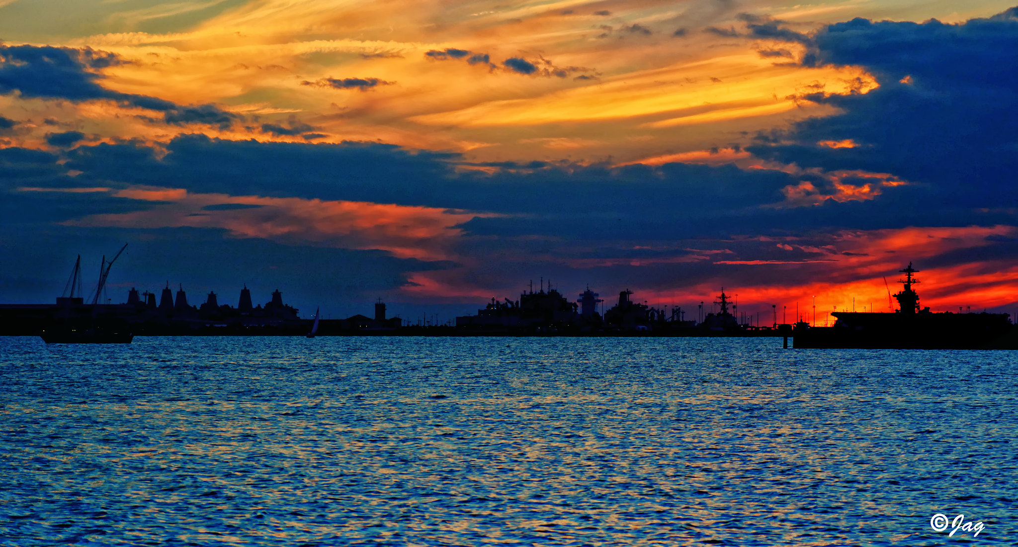 Photograph Last Nights Sunset 10/18 by James Gramm on 500px