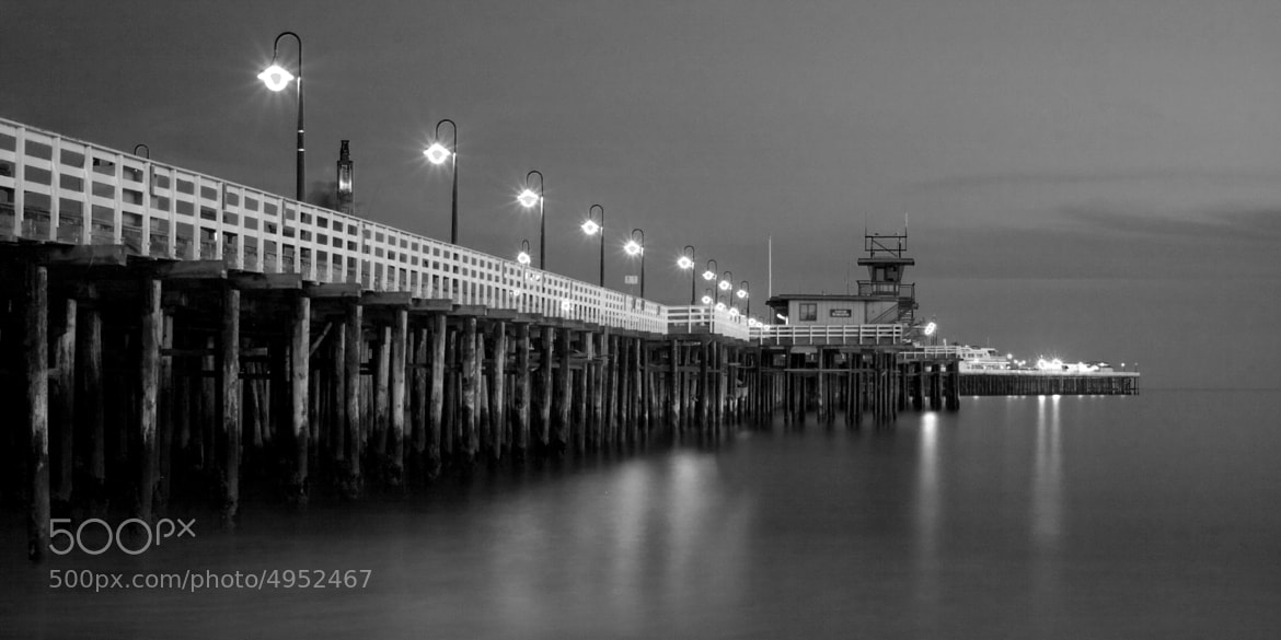 Photograph Santa Cruz Wharf Twilight by Dayne Reast on 500px