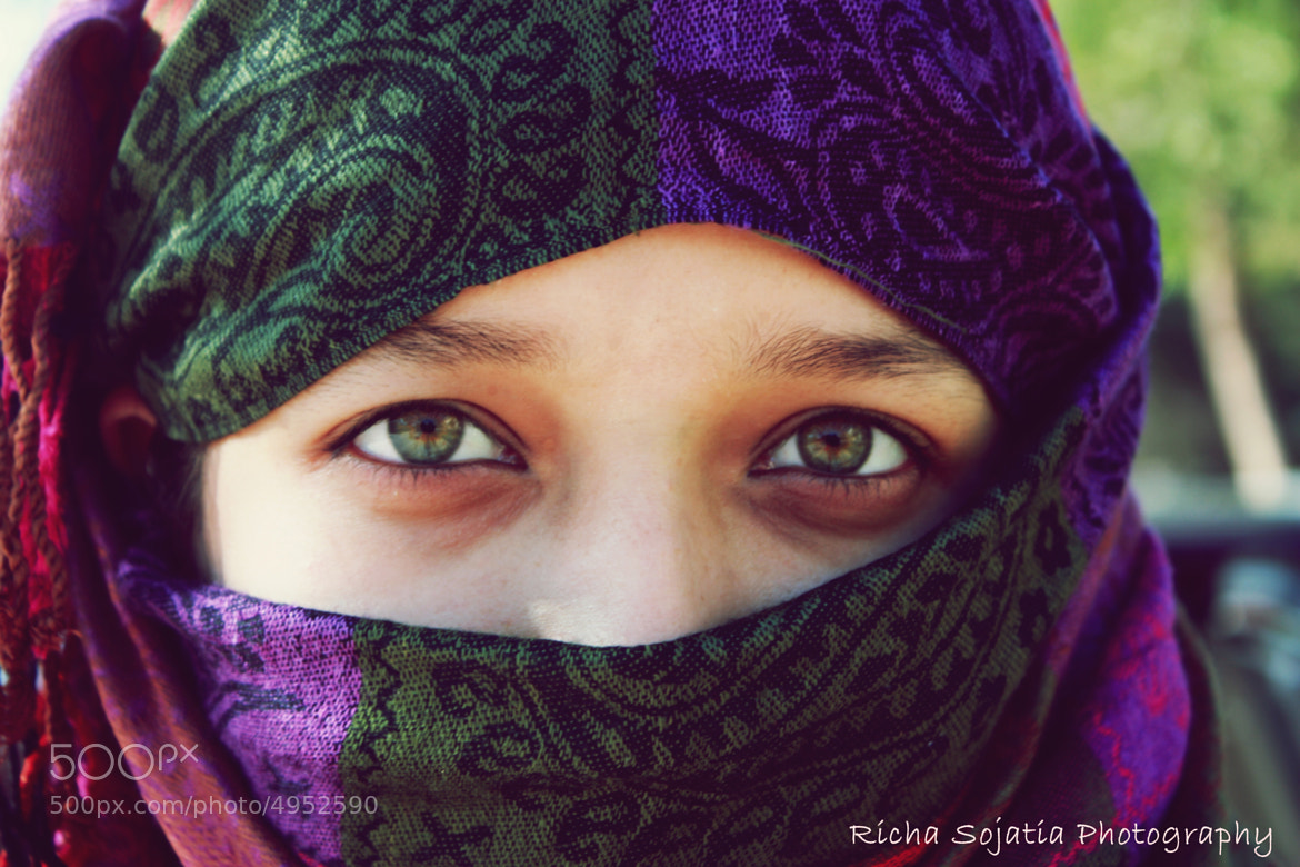 Photograph her eyes  by richa  sojatia on 500px
