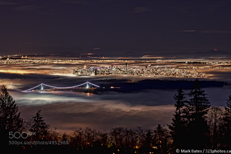 Photograph Fog Over The City by Mark Bates on 500px